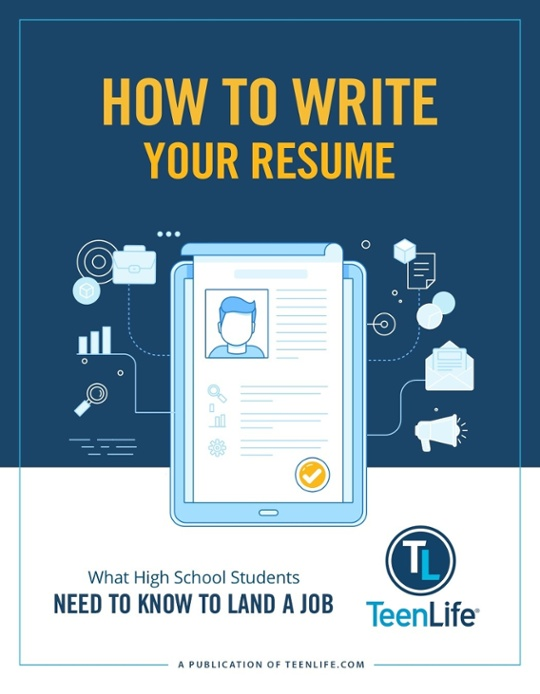 How To Write Your Resume-TeenLife