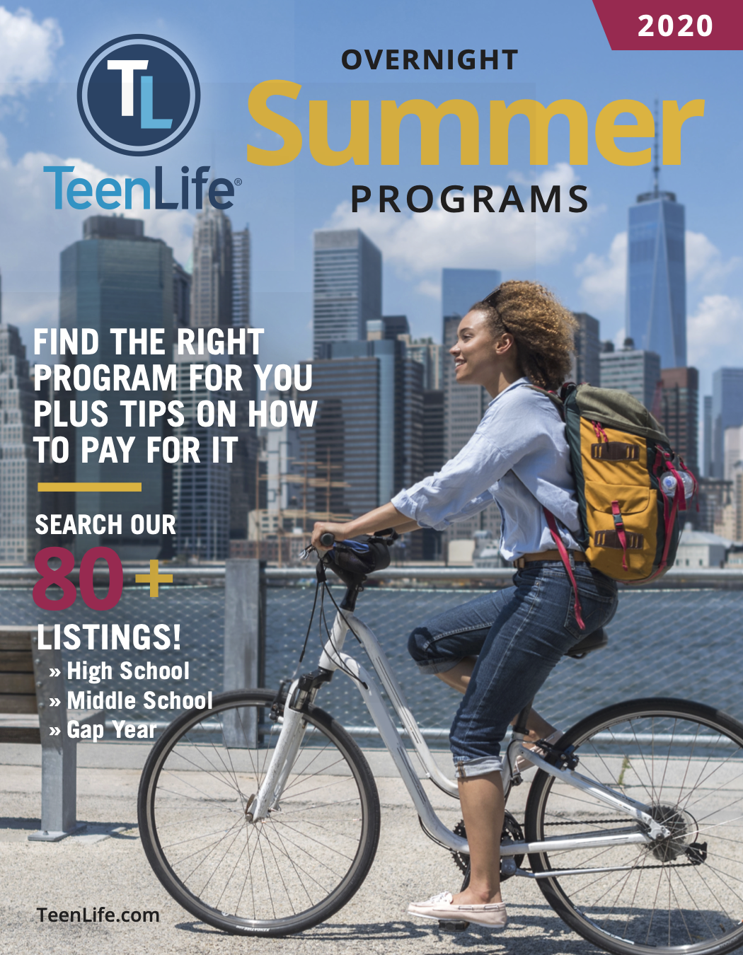 2020  Guide to Overnight Summer Programs-TeenLife