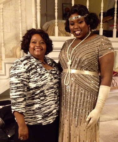 Photo of Alex Newell  & her Mother  Brenda Newell