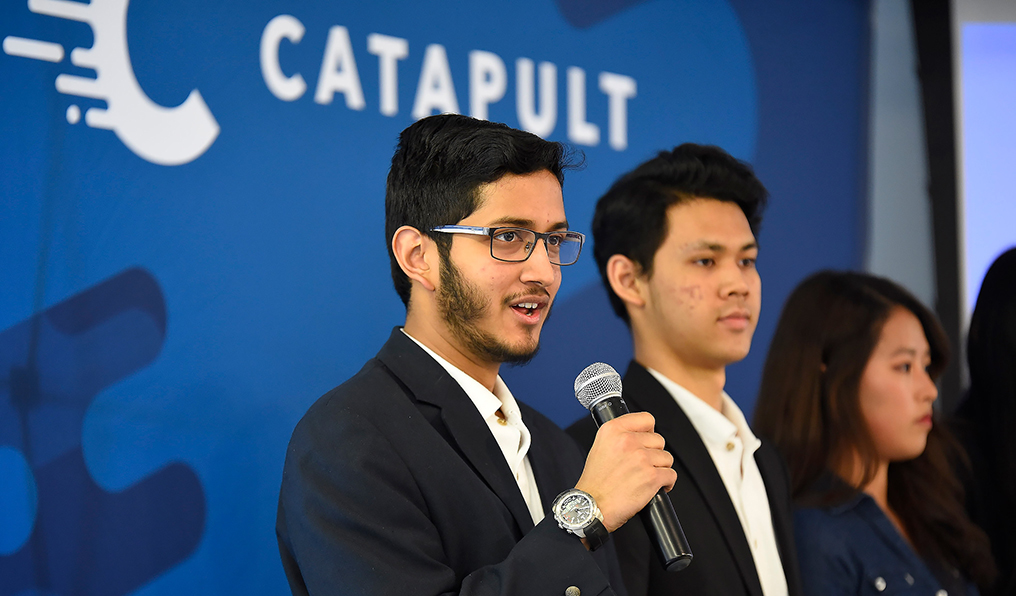 Catapult Ideas is a 10-week summer startup incubator for high school students.