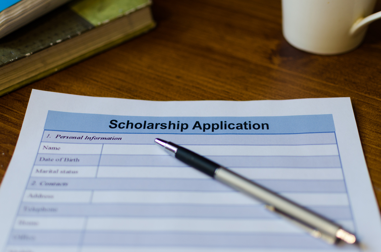 Don't shy away from applying for scholarships.