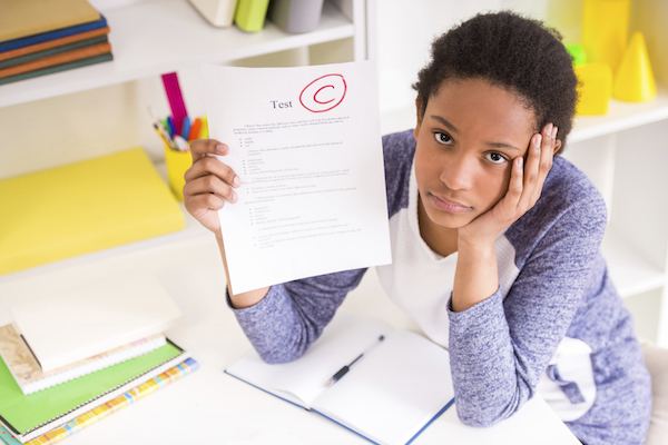 Ouch! How to Talk About a Bad Grade