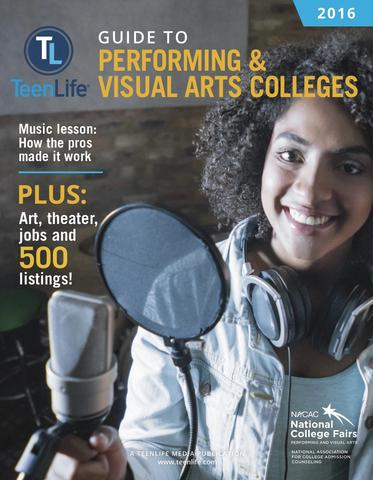 Guide to Performing and Visual Arts Colleges 2016
