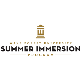 Summer Program Wake Forest University Summer Immersion Programs
