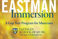 Gap Year Program Eastman Immersion Gap Year