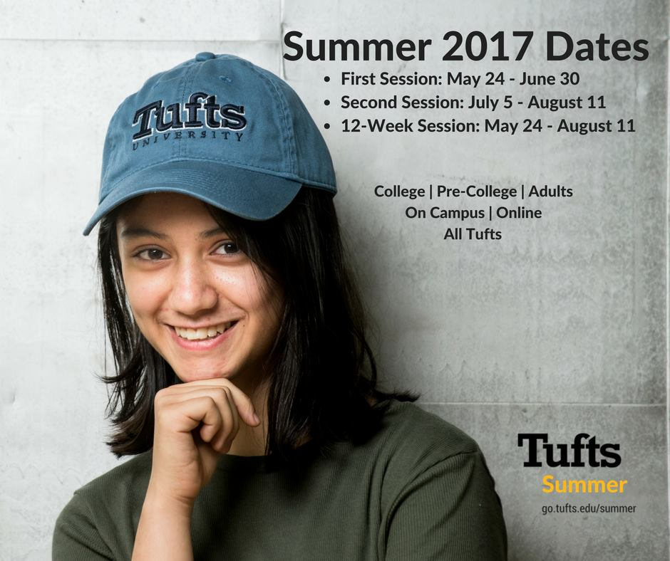 Summer Program Tufts Summer Study