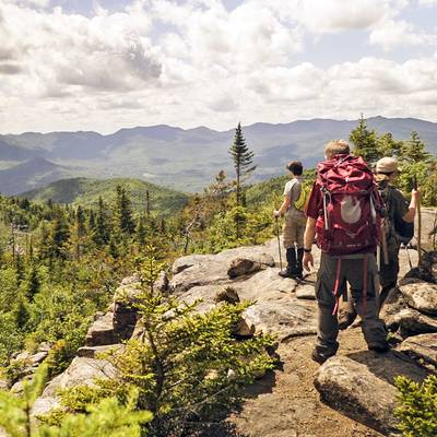 Summer Program - Hiking | NOLS Adirondack Backpacking Adventure