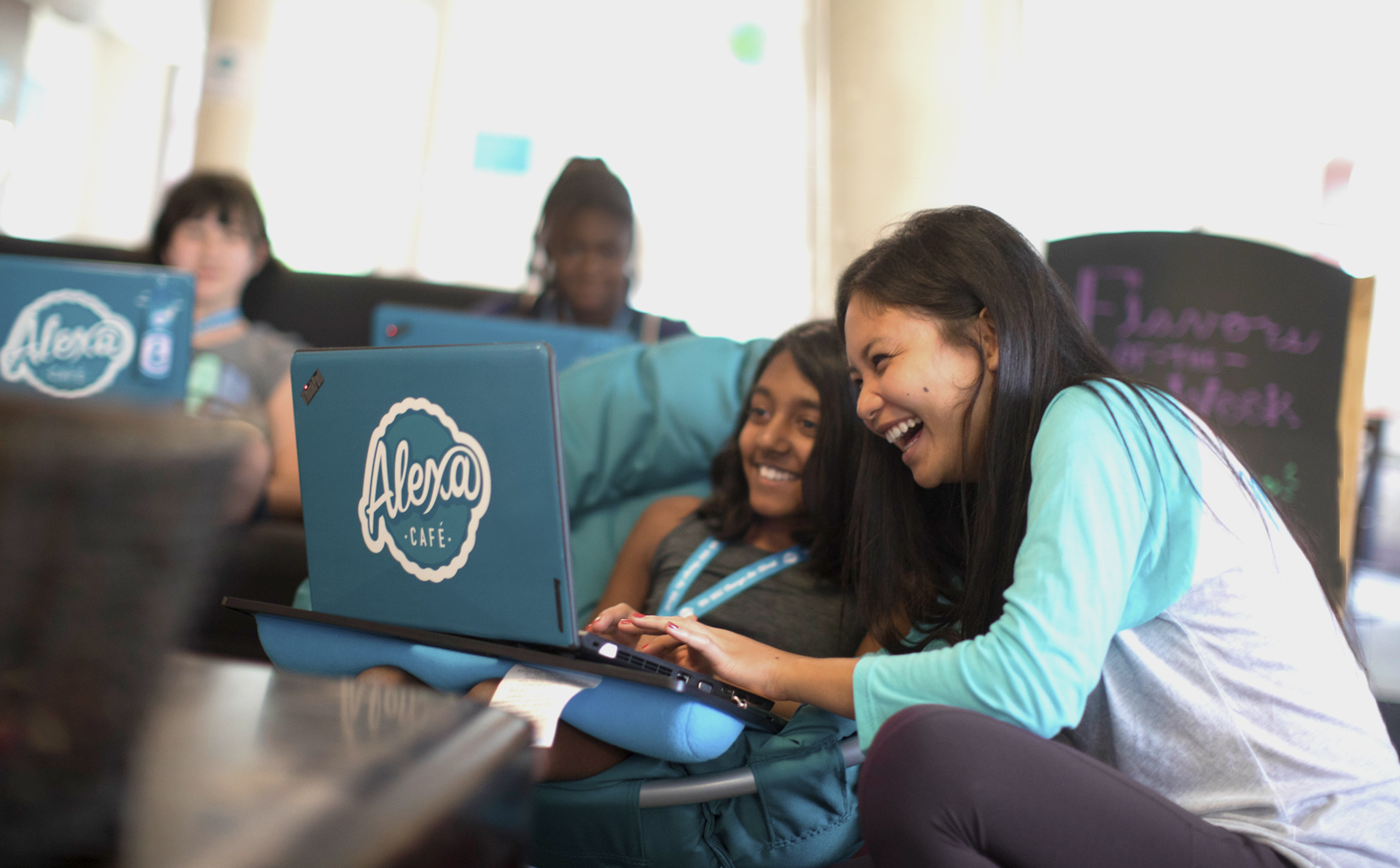 Summer Program - Cybersecurity | Alexa Cafe: All-Girls STEM Camp | Held at Vanderbilt