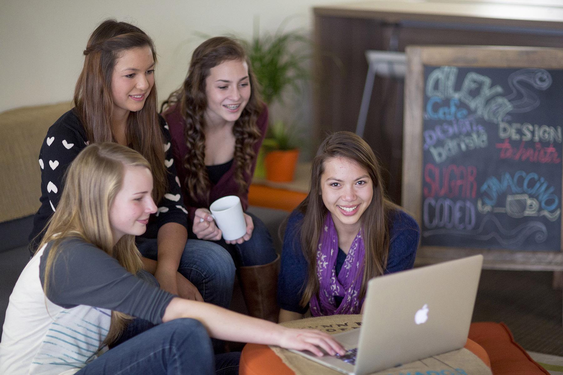Summer Program - Electronics |  Alexa Cafe: All-Girls STEM Camp