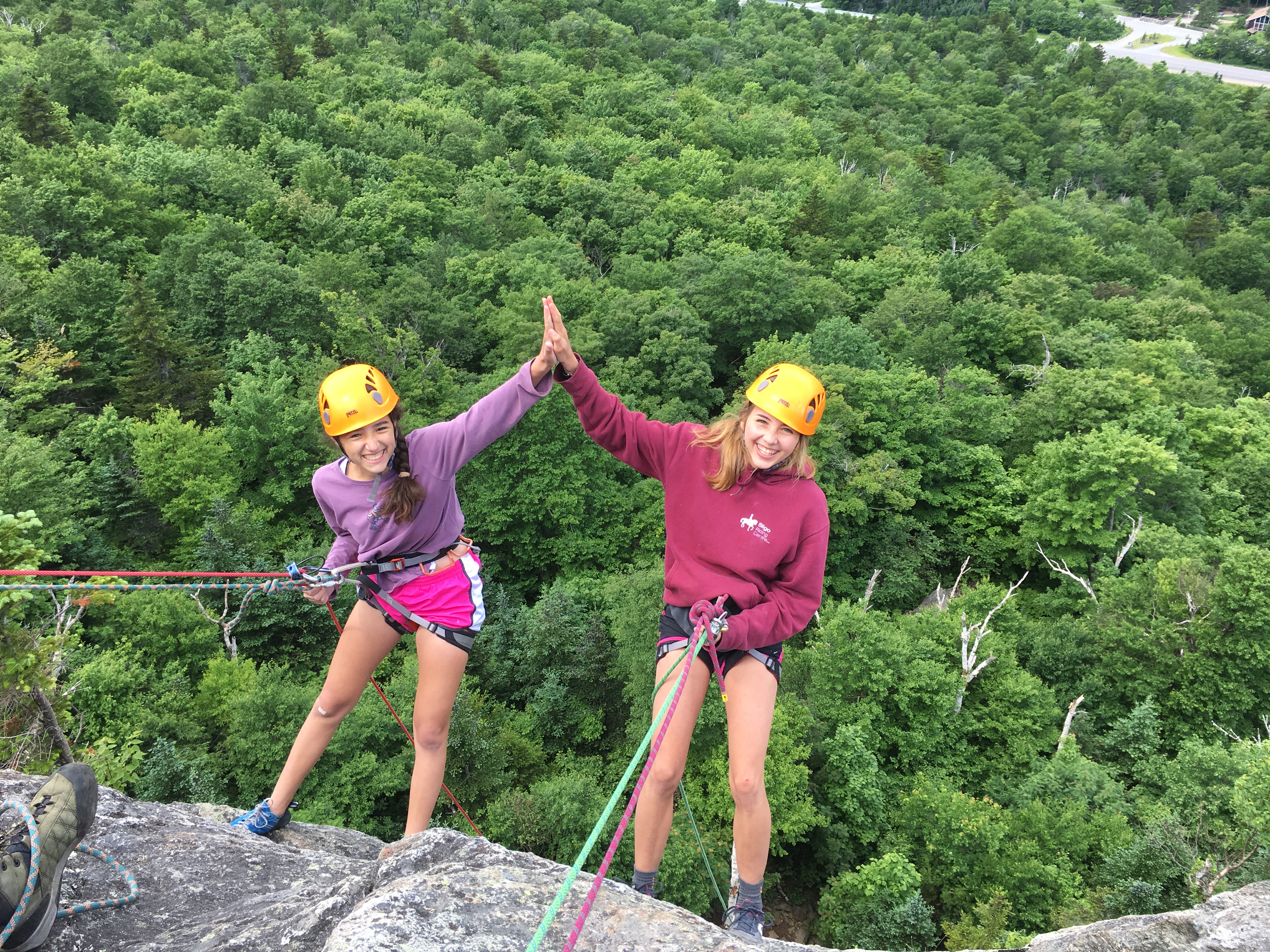 Summer Program - Rock Climbing | AMC's Teen Wilderness Adventures: 10-Day Multisport Adventure - Backpack, Climb, Canoe (Ages 14-16)