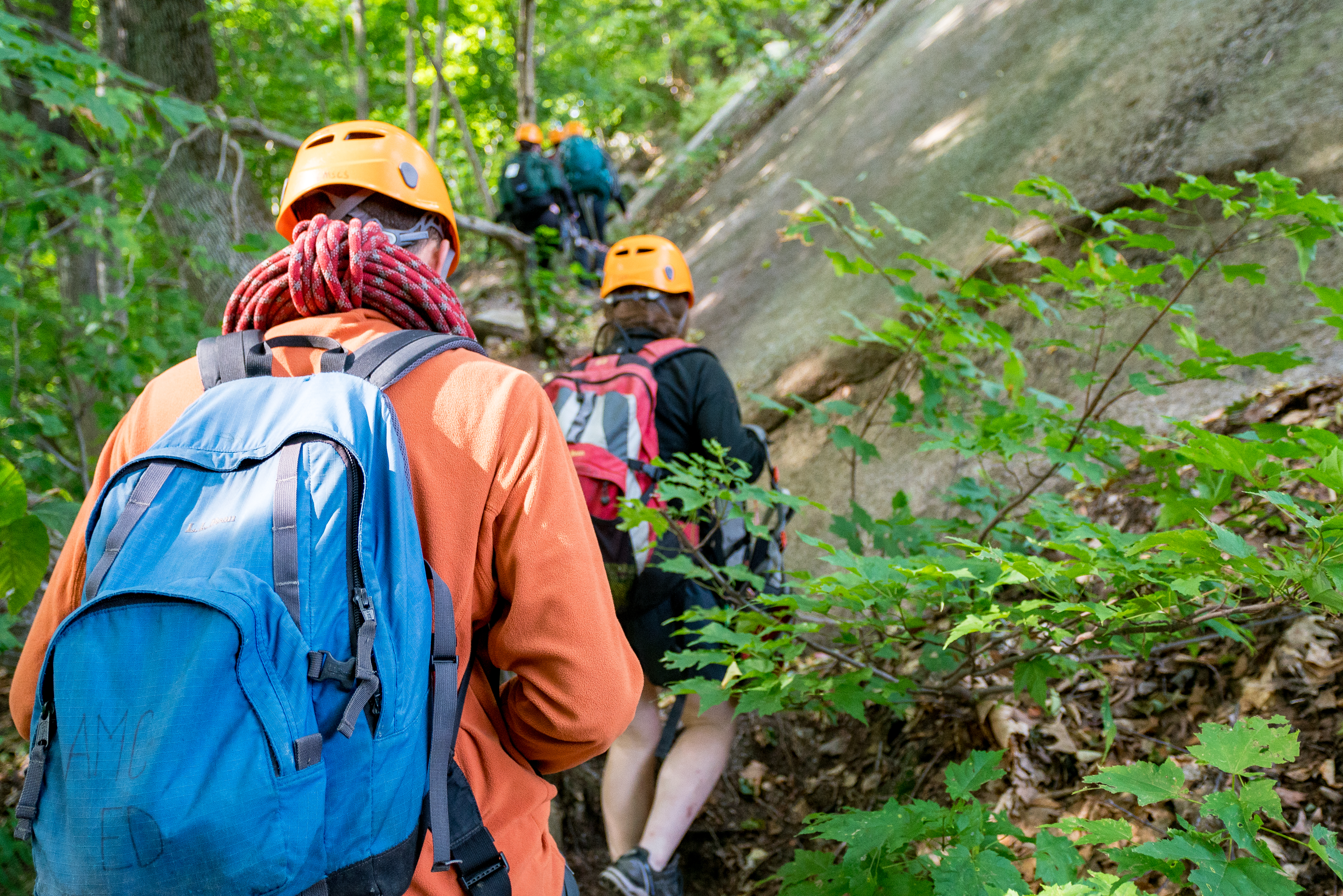 Summer Program - Hiking | AMC's Teen Wilderness Adventures: 10-Day Rock Climbing and Backpacking Adventure (Ages 14-16)