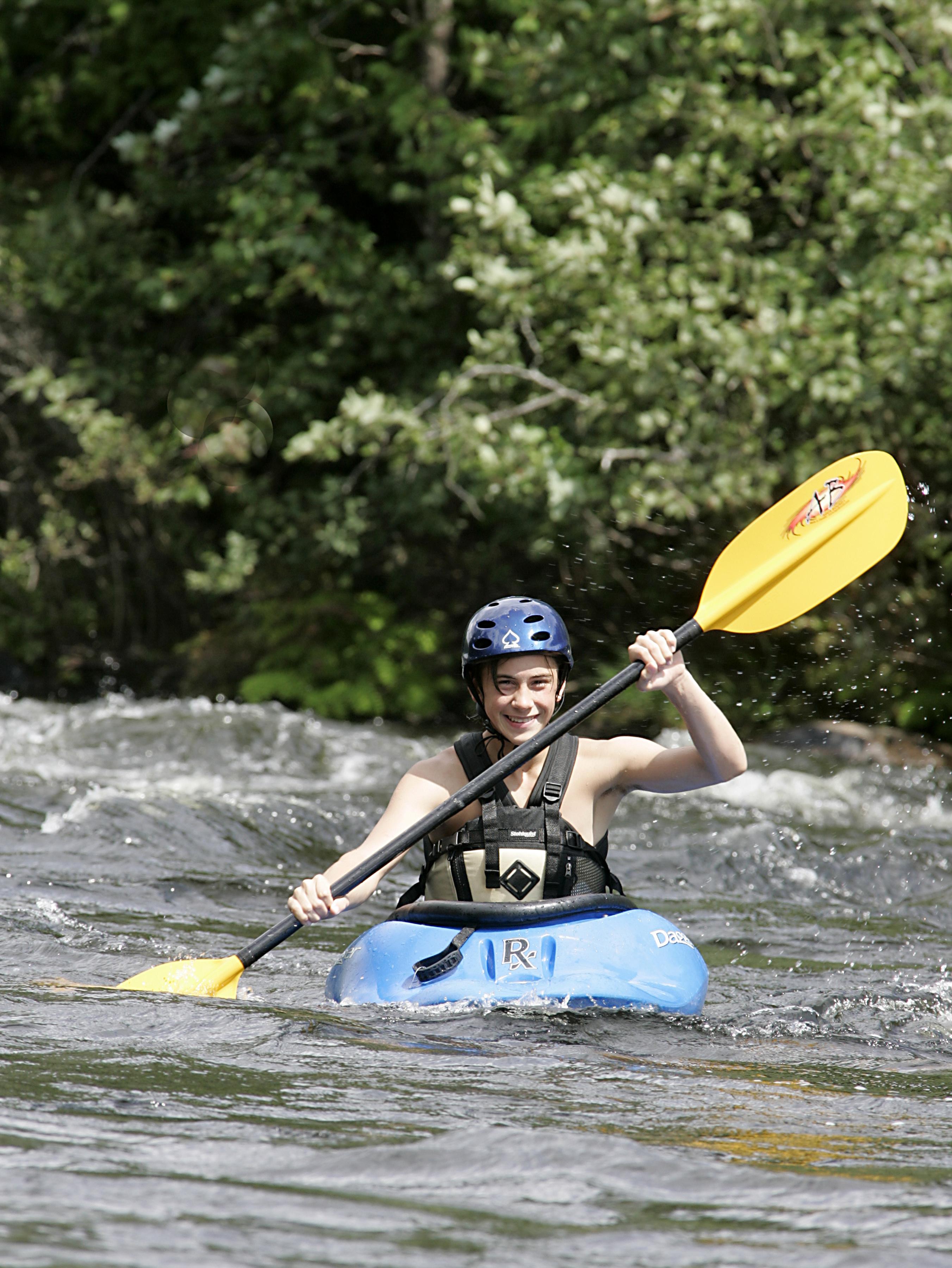 Summer Program - Kayaking   AMC's Teen Wilderness Adventures: 7-Day Rocks & Rivers Adventure (Ages 15-18)