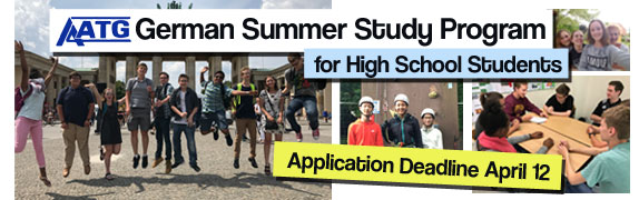 Summer Program - German | AATG German Summer Study Program for High School Students