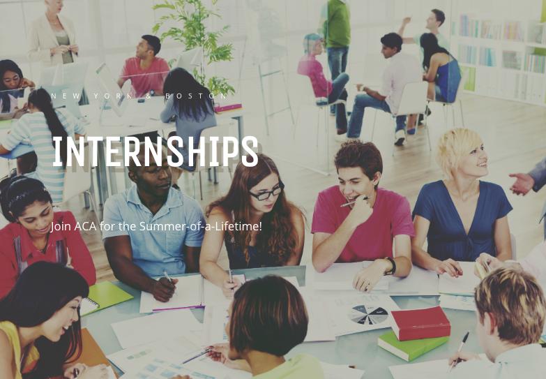 Summer Program - Career Exploration | American Collegiate Adventures Internship Program