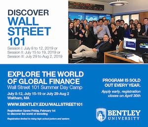 Summer Program - Finance | Bentley University: Wall Street 101 Summer Program