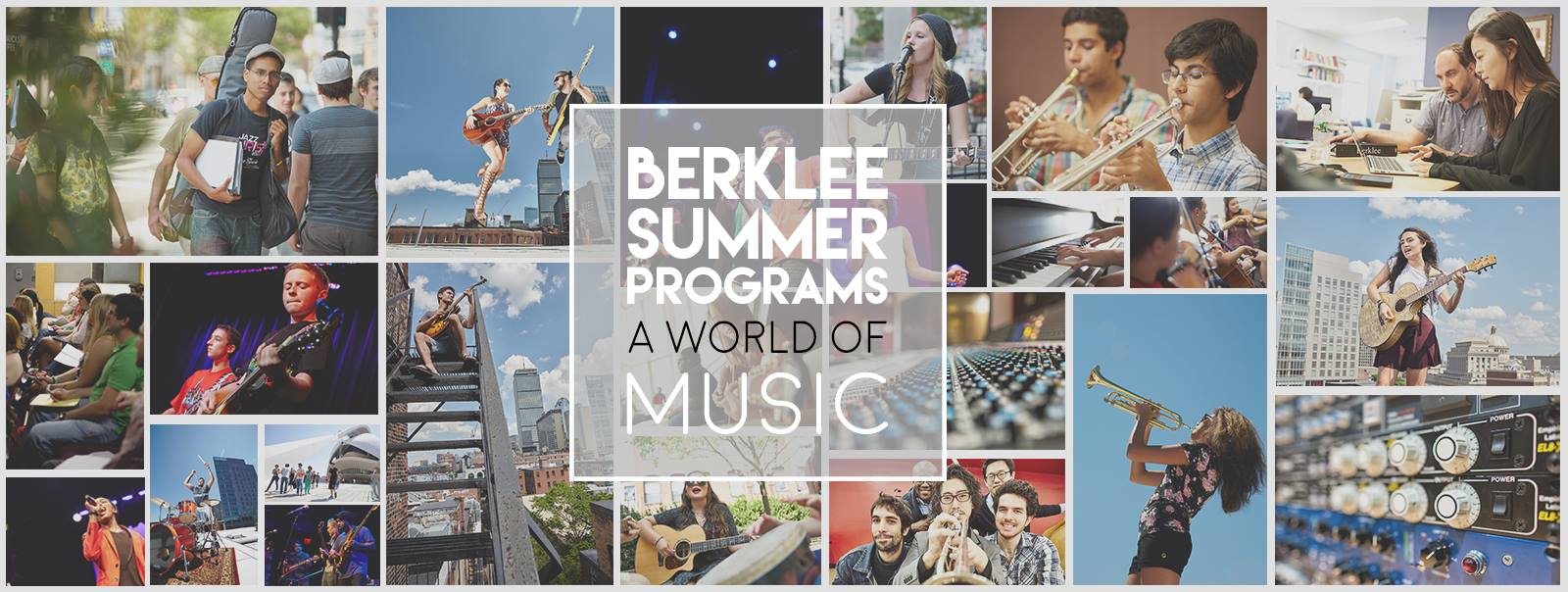 Summer Program - Music | Berklee Five-Week Summer Performance Program