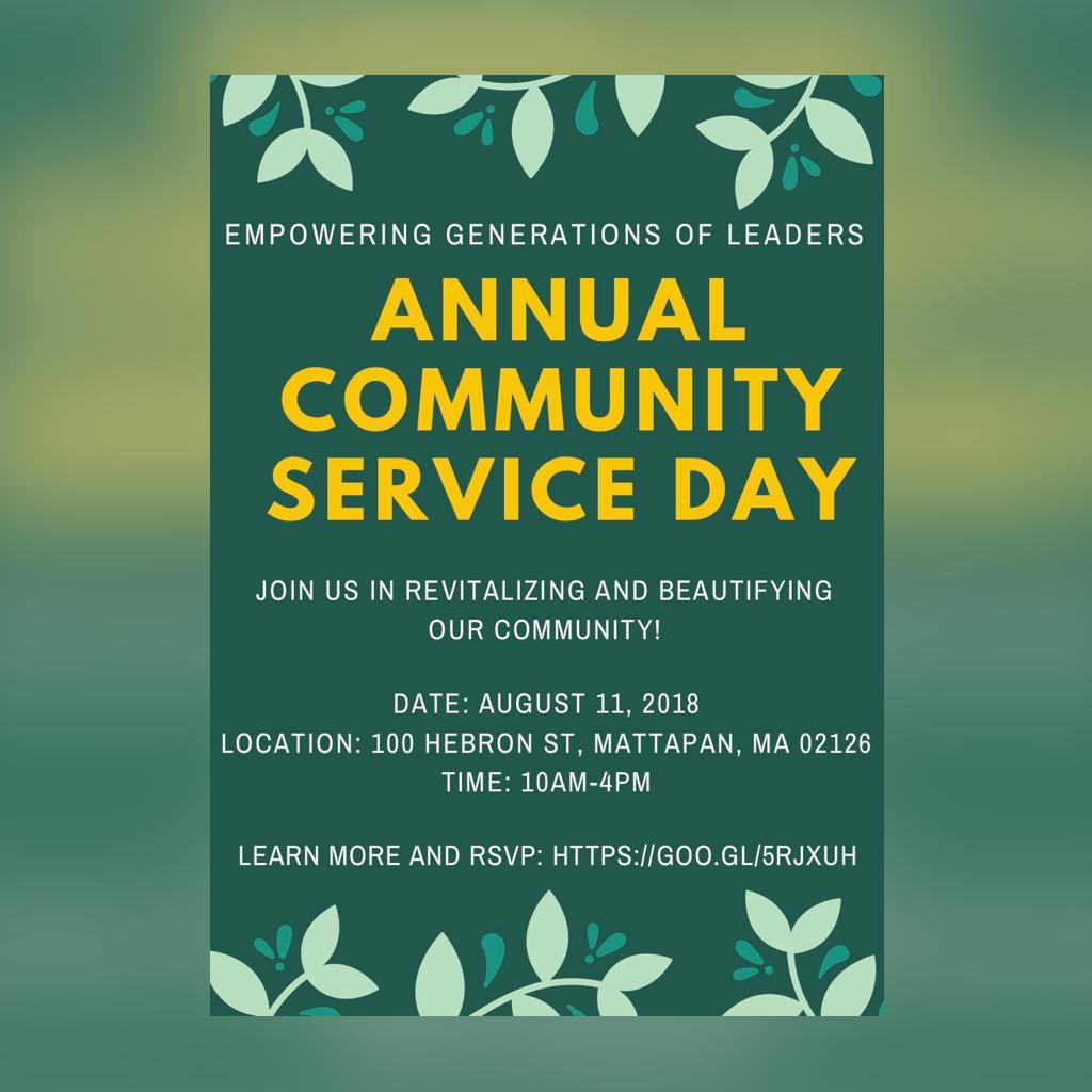 Community Service Organization - Boston Community Service Day  1
