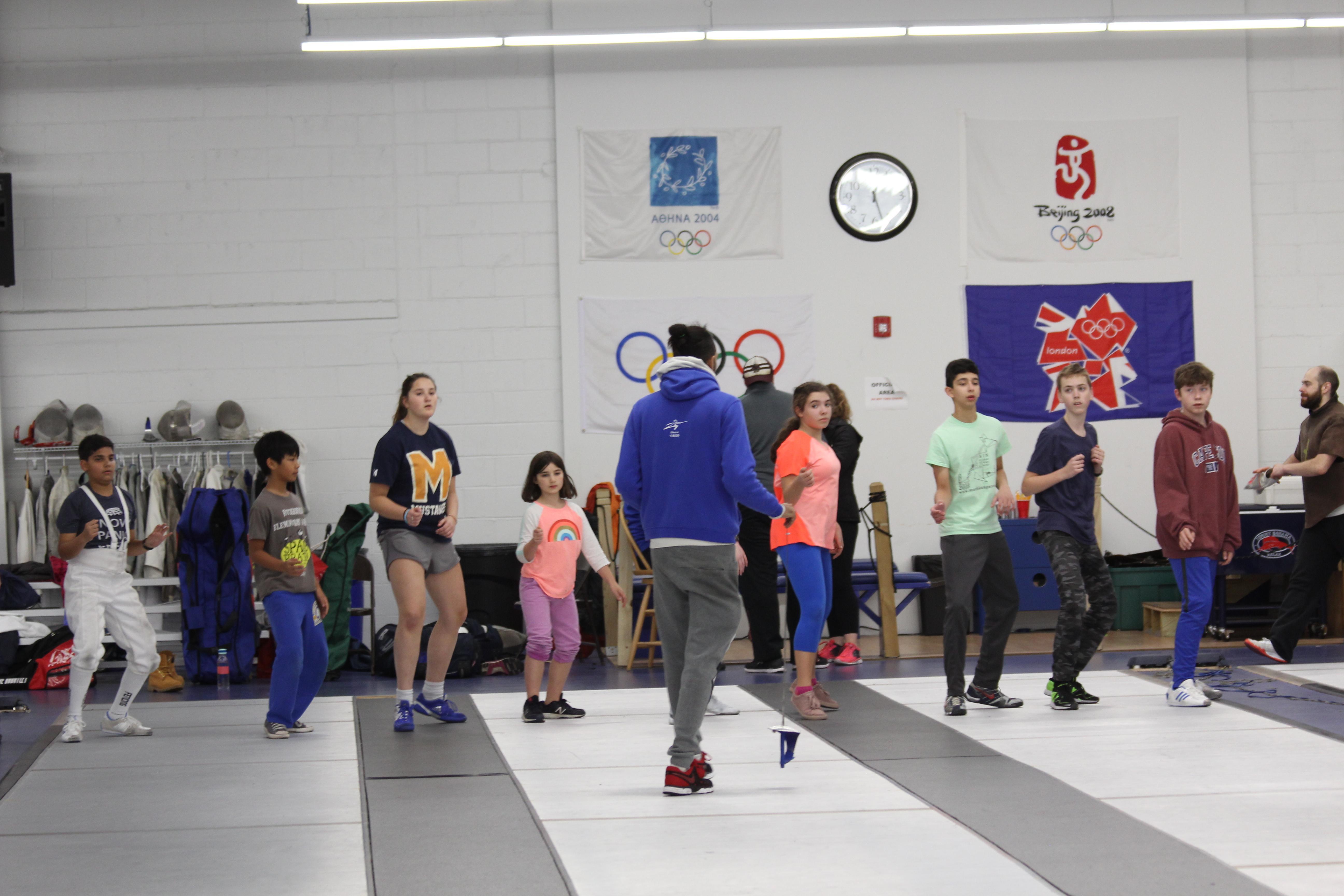 Summer Program - Fencing | Boston Fencing Club: Summer Clinics
