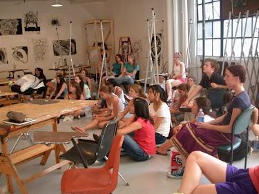 Summer Program - Multi-Arts | Boston University Visual Arts Summer Institute
