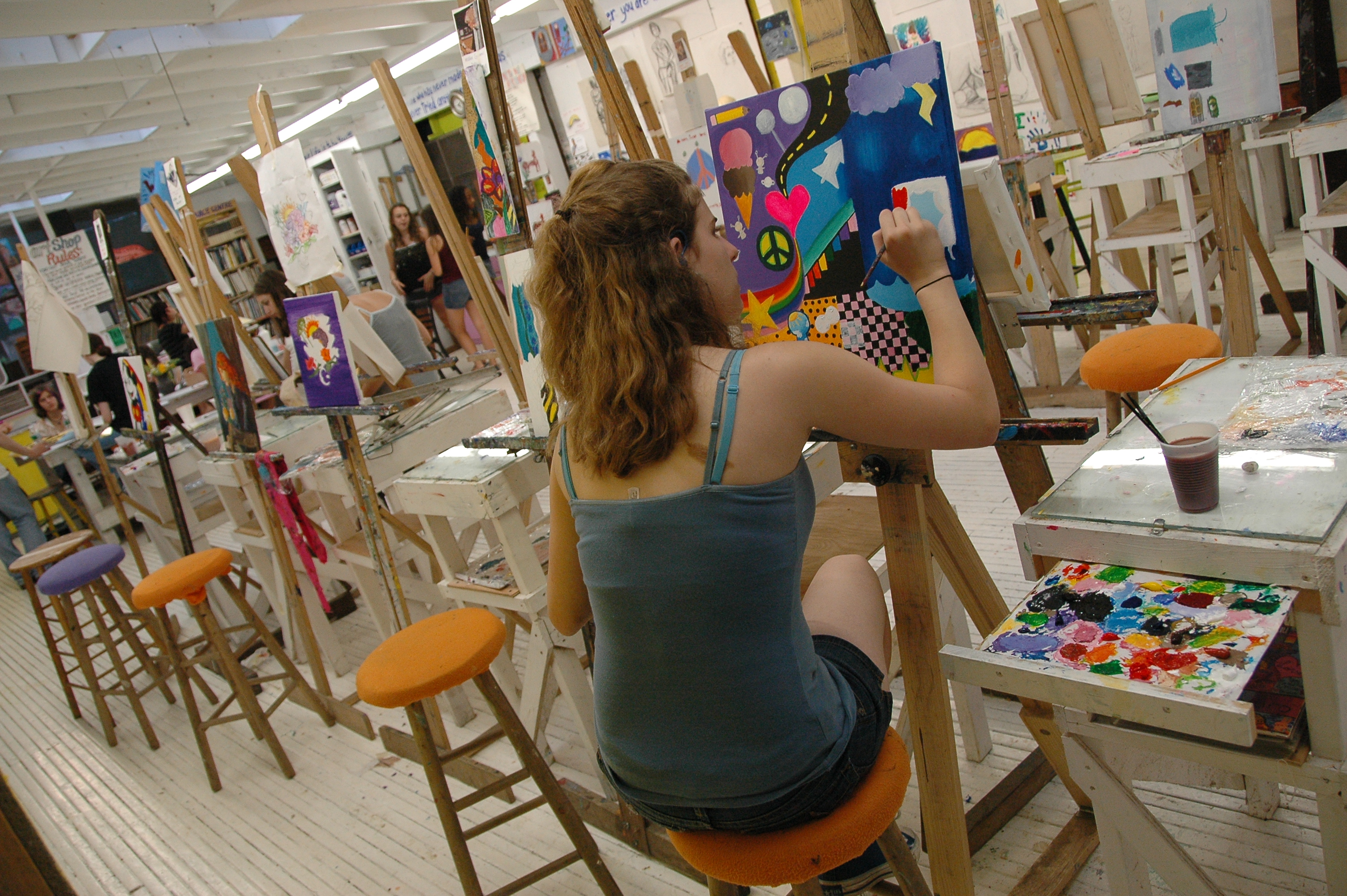 Summer Program - Sewing | Buck's Rock Performing and Creative Arts Camp