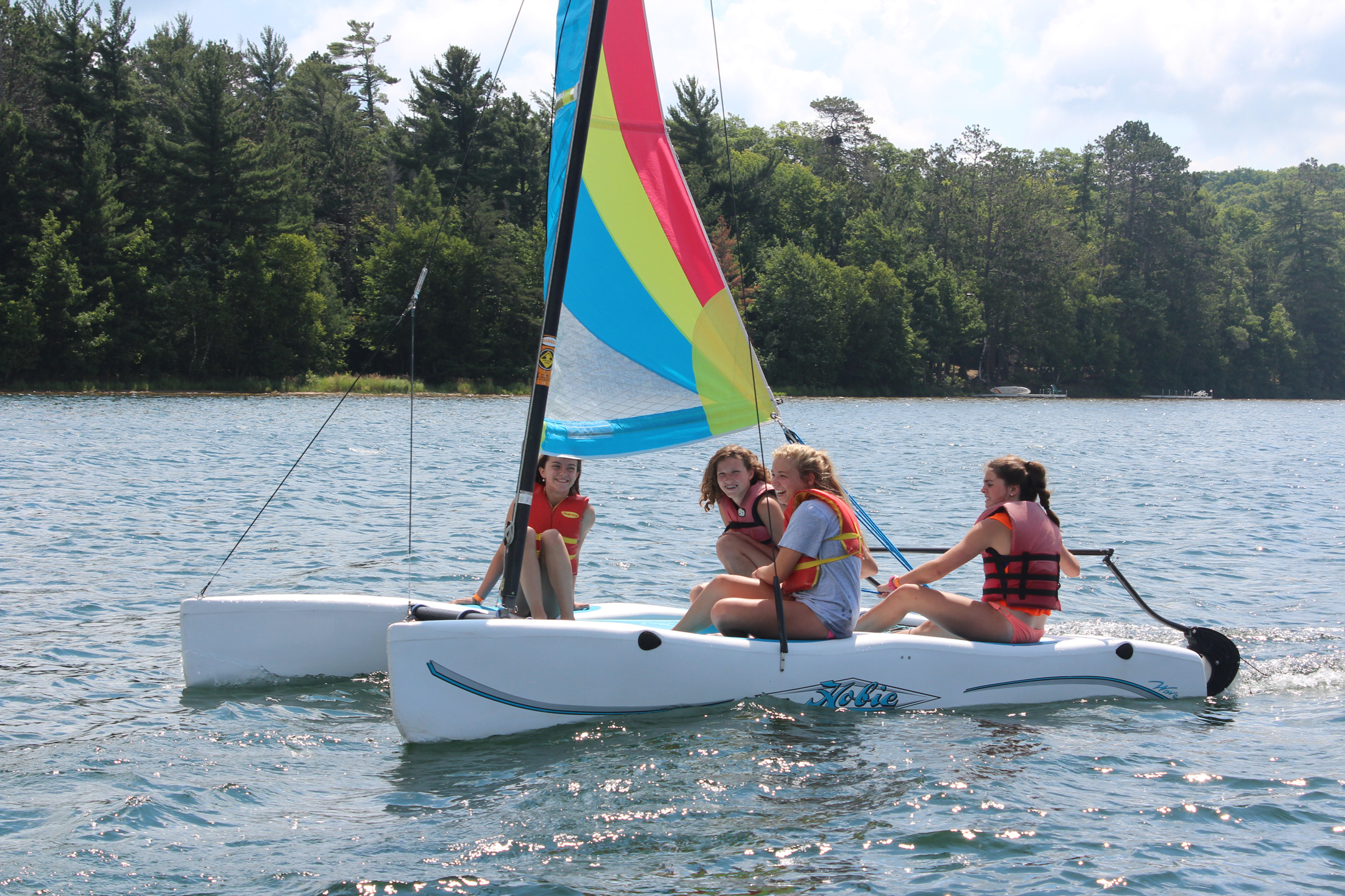 Summer Program - Water Sports | Camp Nicolet for Girls