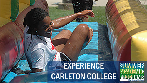 Summer Program - Pre-College | Carleton College: Carleton Liberal Arts Experience (CLAE)
