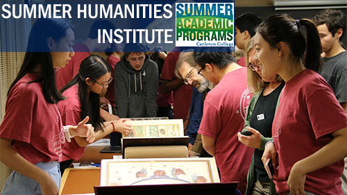 Summer Program - Literature | Carleton College: Summer Humanities Institute