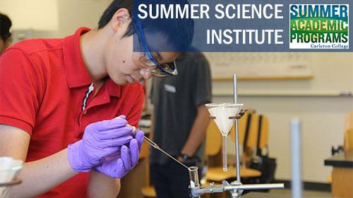Summer Program - Science | Carleton College: Summer Science Institute