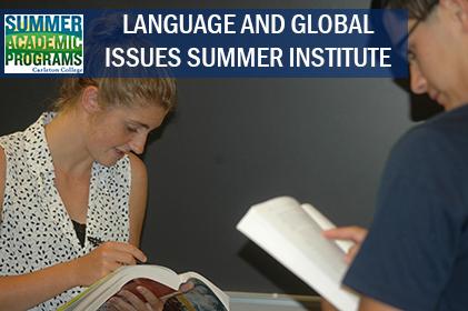 Summer Program - Gifted - Academic | Carleton College: Summer Academic Programs