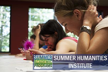 Summer Program - STEM | Carleton College: Summer Academic Programs