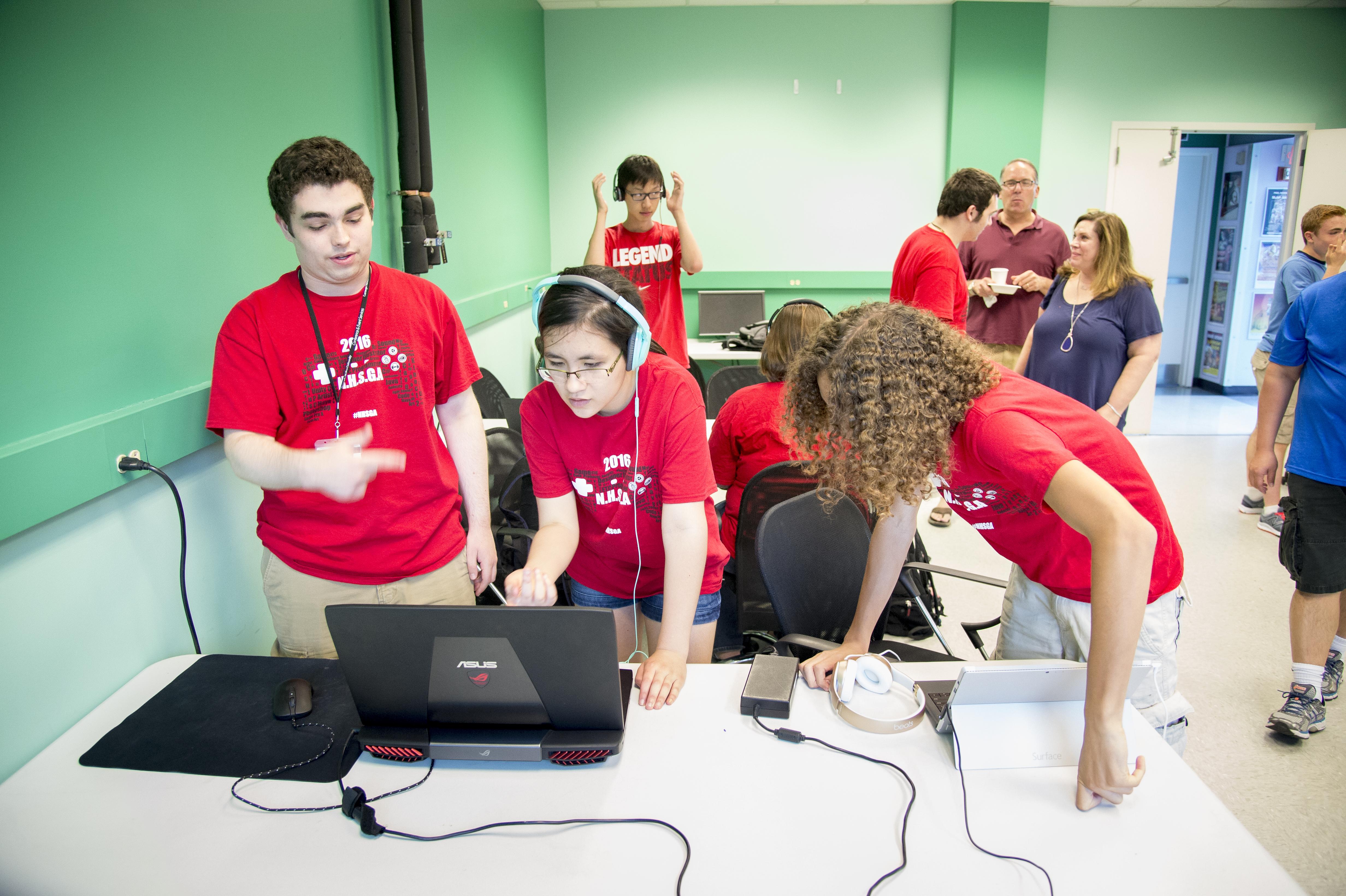 Summer Program - Computer Science | Carnegie Mellon Summer: National High School Game Academy