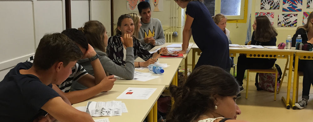 Summer Program - French   CESA Languages Abroad - Teen Courses in France