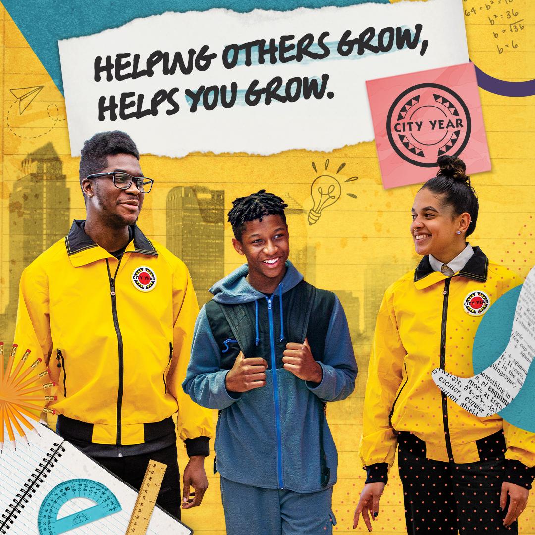 Gap Year Program - City Year AmeriCorps Member   Full-Time K-10 Tutor and Mentor  1