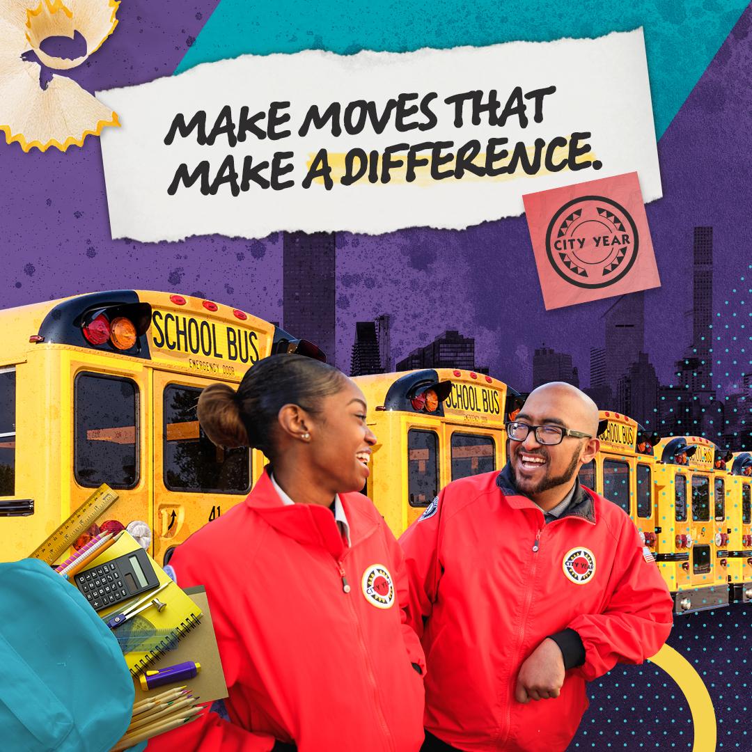 Gap Year Program - City Year AmeriCorps Member   Full-Time K-10 Tutor and Mentor  3