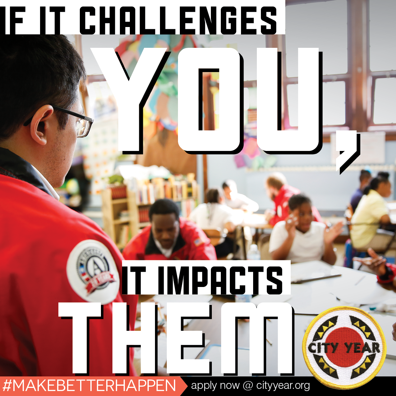 Community Service Organization - City Year: Find Purpose Not Just A Paycheck!  2