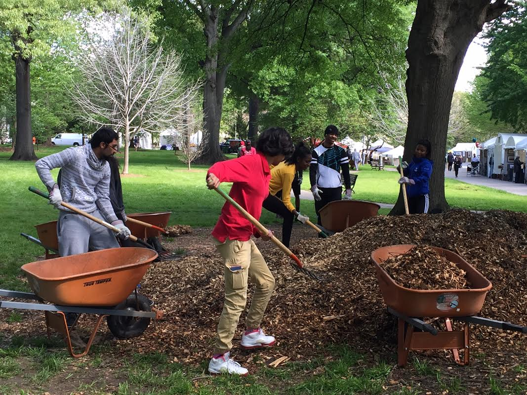 Community Service Organization - Green Team - Pitch in for Piedmont Park!  2