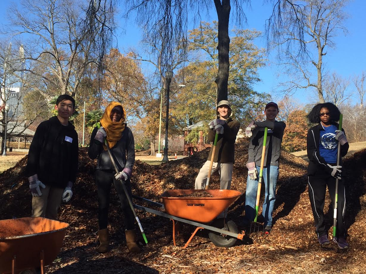 Community Service Organization - Green Team - Pitch in for Piedmont Park!  3