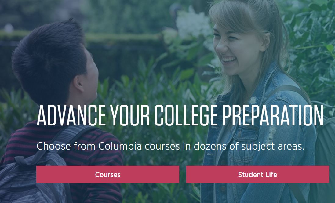 "Summer Program - Literacy and Education | Columbia University: Online ""College Edge"" Summer Sessions"
