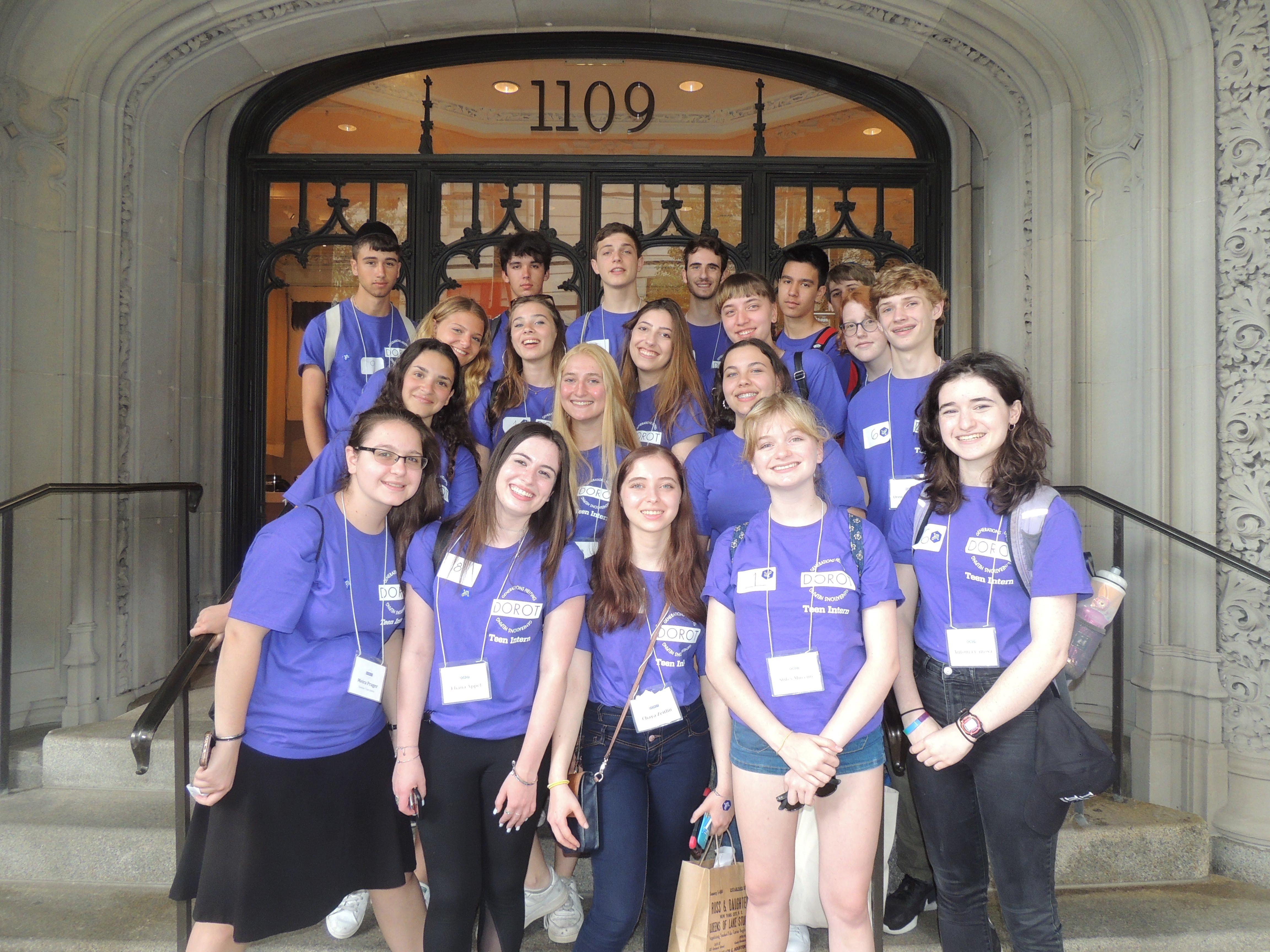 Summer Program - Jewish Service | DOROT Summer Teen Internship Program - Riverdale