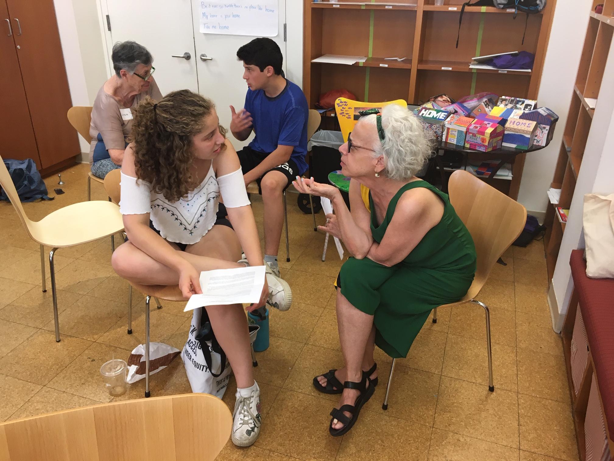 Summer Program - Youth | DOROT Summer Teen Internship Program - Manhattan