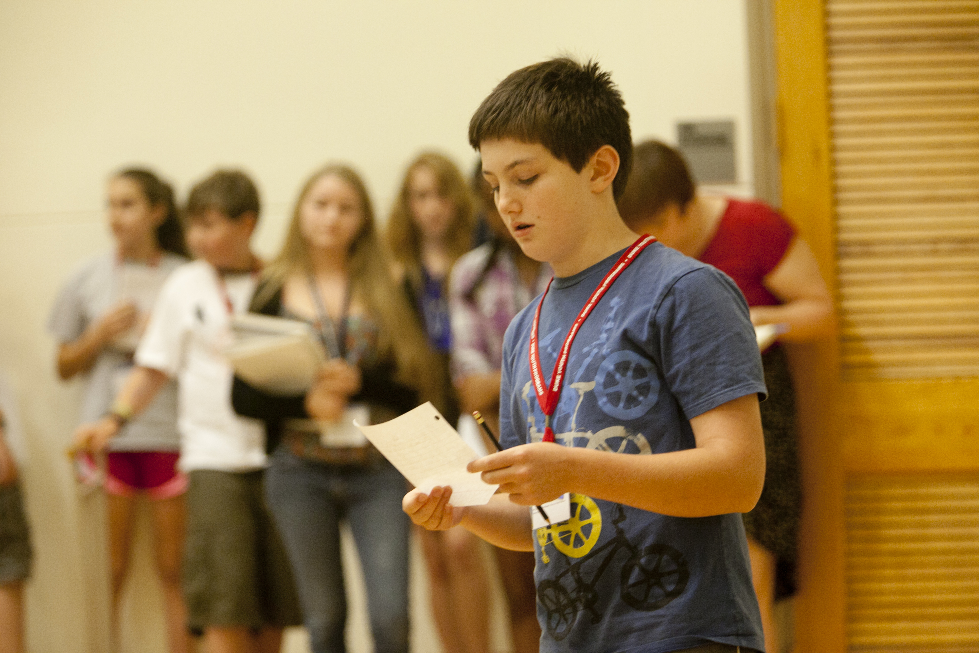 Summer Program - Middle School | Duke University Youth Programs: Young Writers' Camp