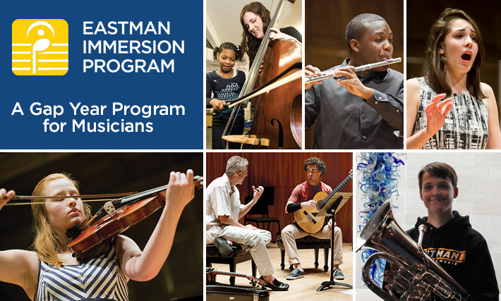 Gap Year Program - Eastman Music Immersion Gap Year  1
