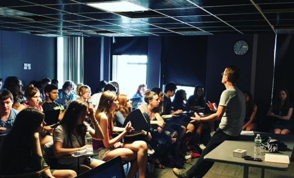 Summer Program - Writing | Emerson College: Pre-College Creative Writers Workshop