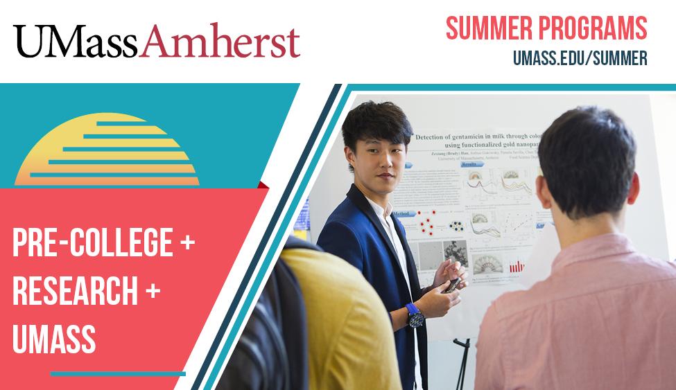 Summer Program - Entrepreneurship | UMass Amherst Pre-College: Entrepreneurship - Becoming a Game-Changer