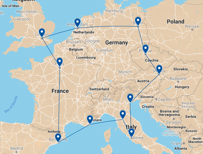 Summer Program - Adventure/Trips | Gapforce Europe Tour