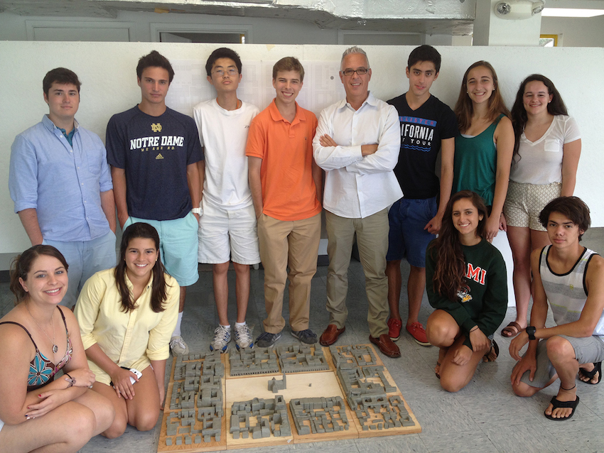 Summer Program - College Experience | University of Miami Pre-College - Explorations in Architecture and Design