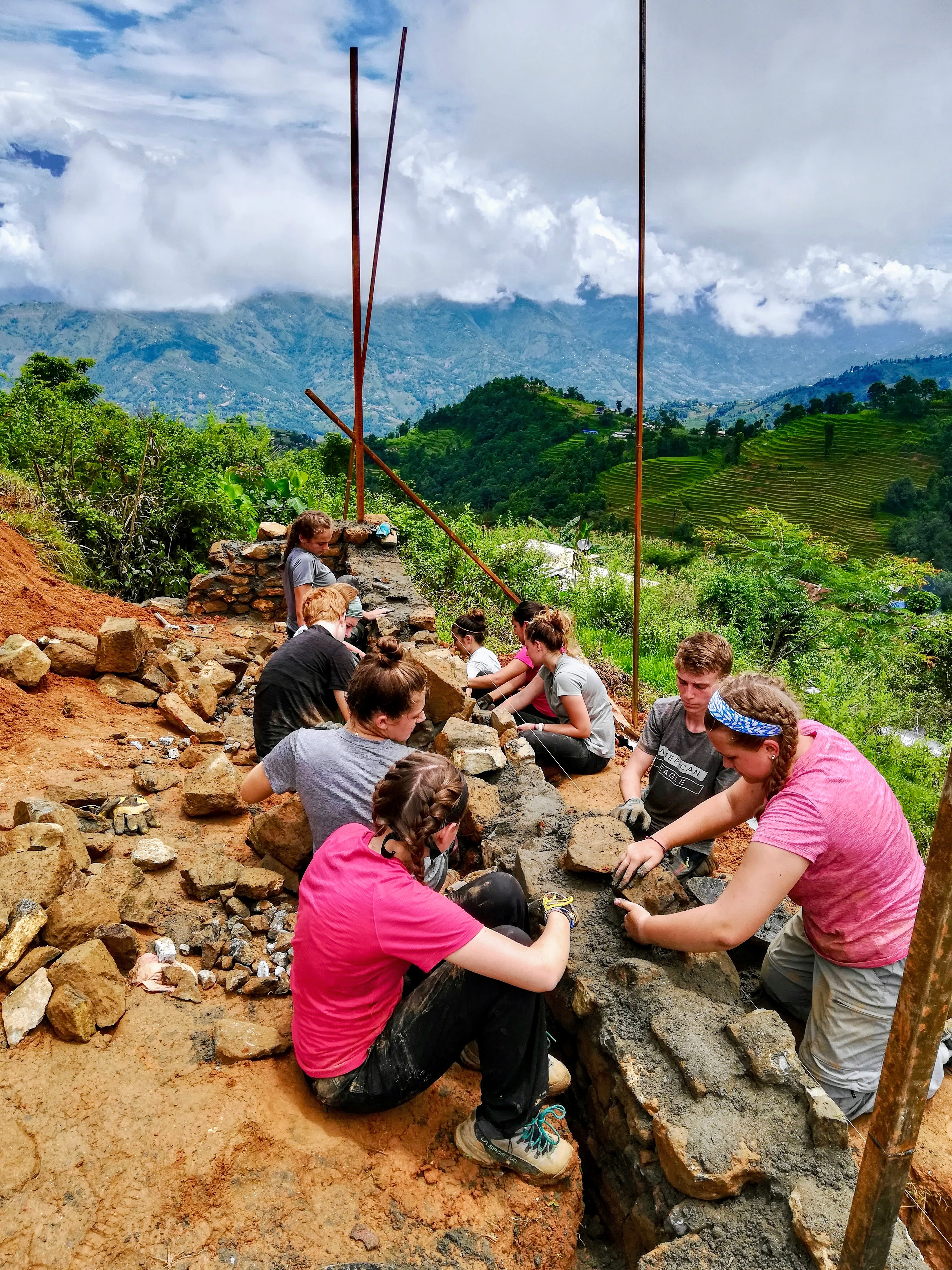 Summer Program - Community Center | Global Routes Nepal: Trekking and Service
