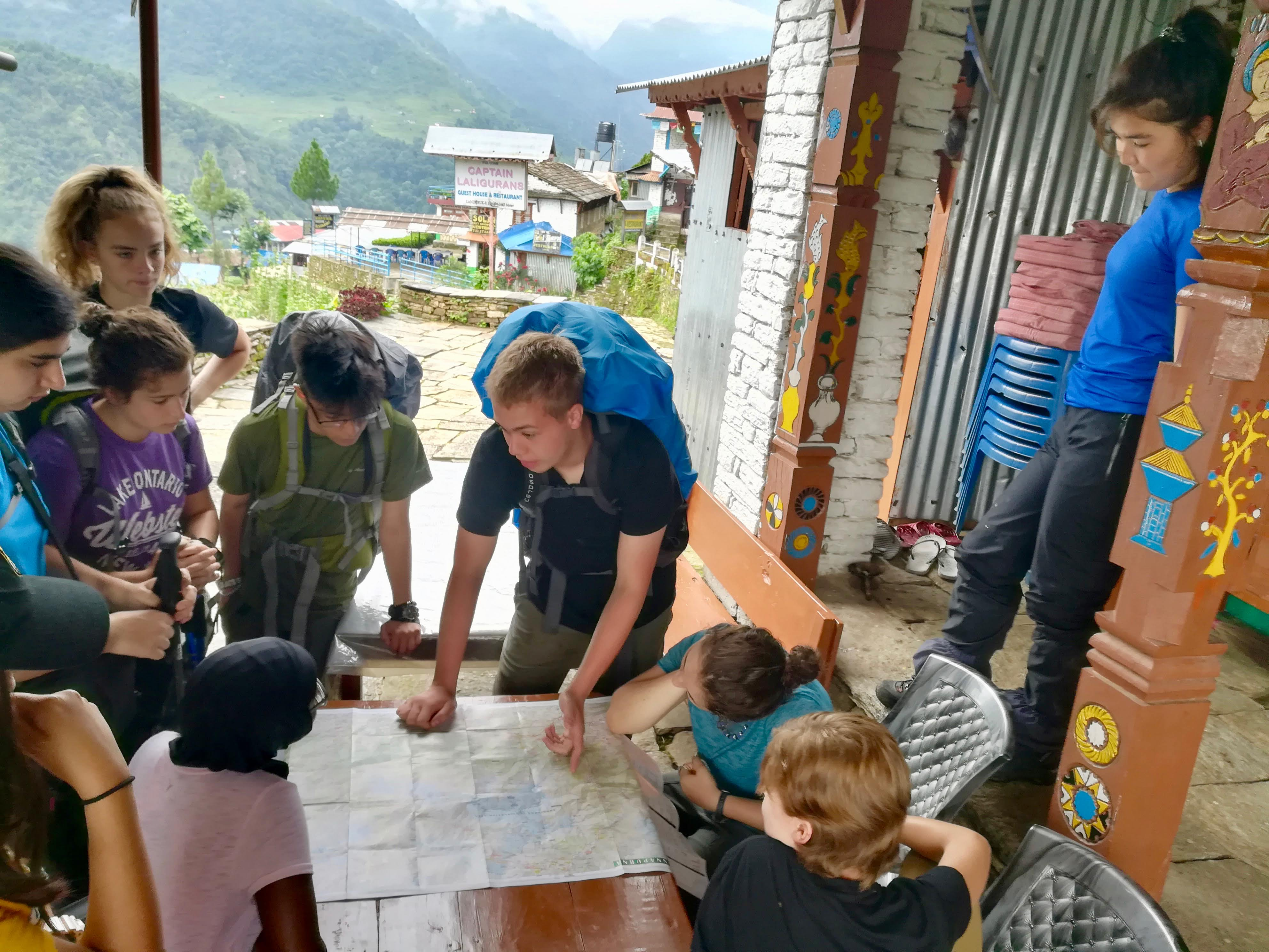 Summer Program - Travel And Tourism | Global Routes: Nepal. The Roof of the World. Service and Cultural Immersion.