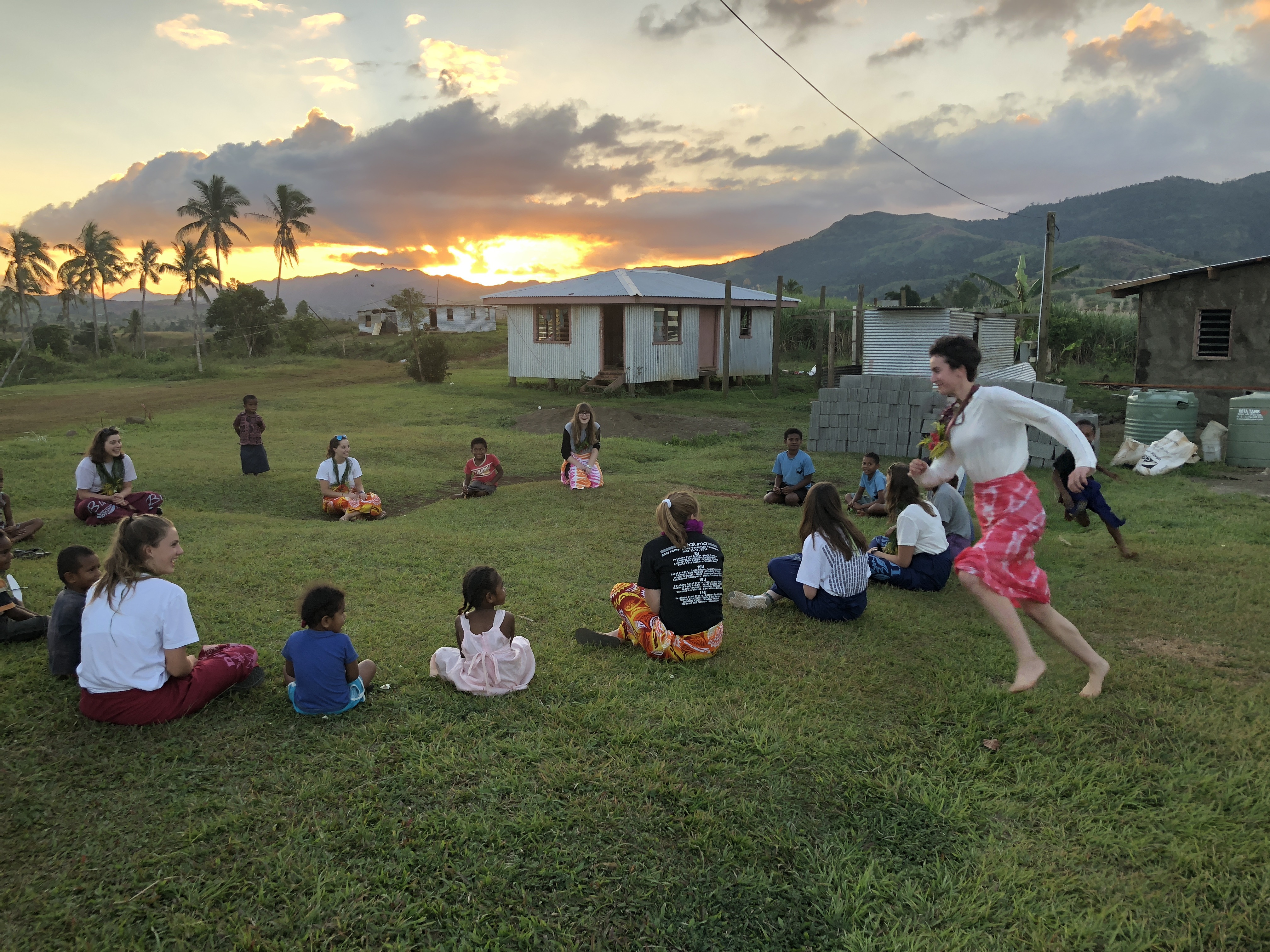 Summer Program - Literacy and Education | Global Works - Fiji Islands: Building Community