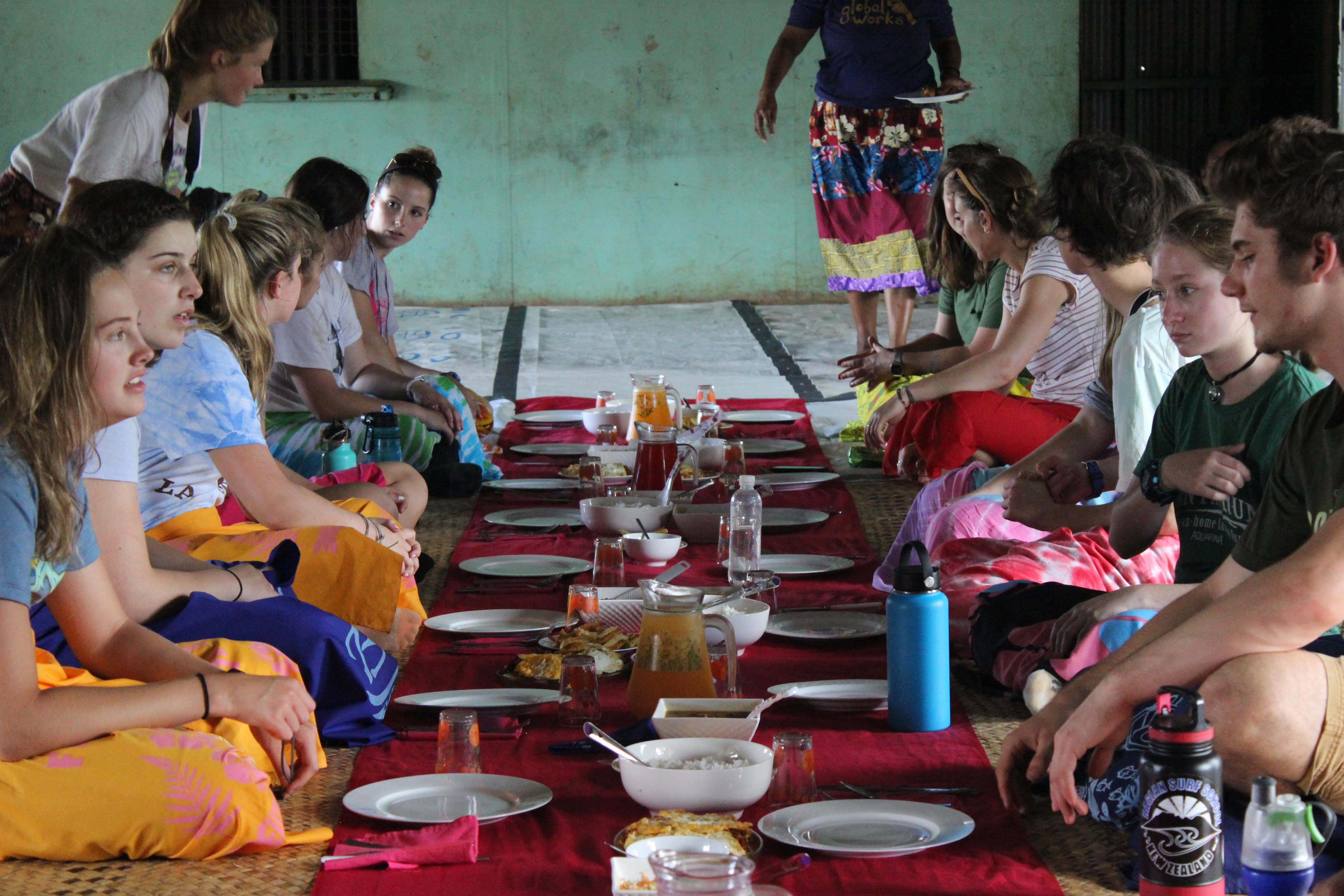 Summer Program - Community Center | Global Works - Fiji Islands: Building Community